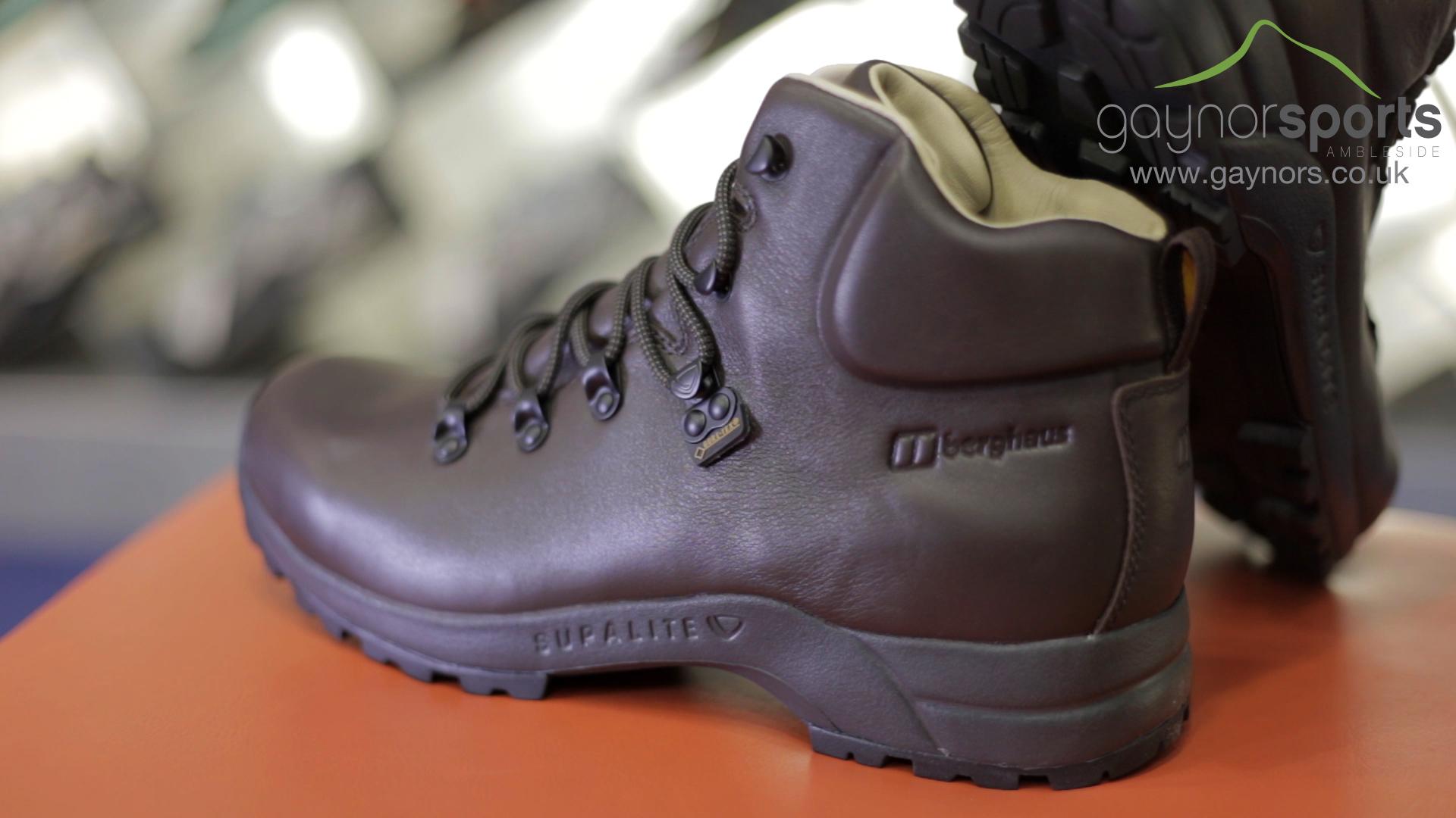 98dbdf7c918f Berghaus Supalite walking boot.